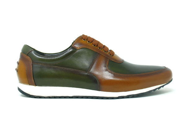 KS611-11 Carrucci Burnished Leather Sneaker