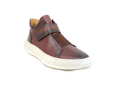 Carrucci Mid Top Leather Sneaker