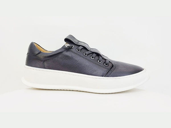 KS671-11 Calfskin Slip-On Sneakers