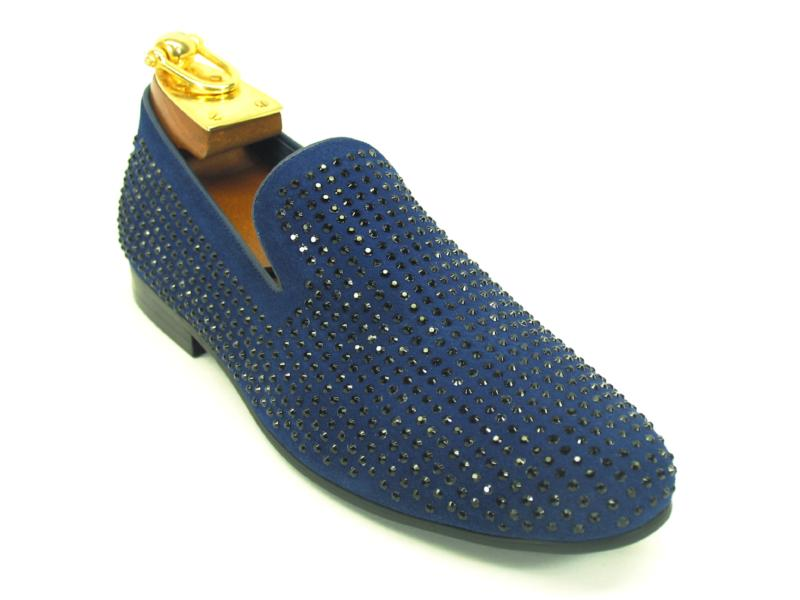 Suede Studs Loafer