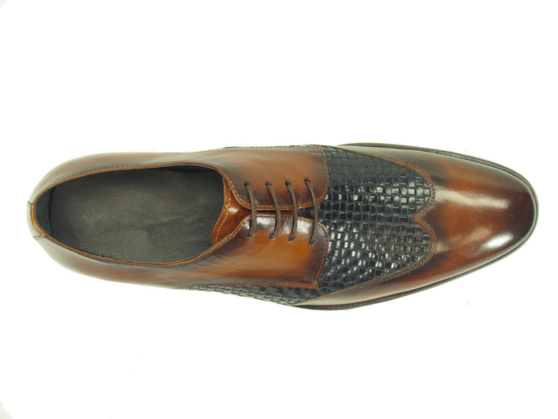 Hand Braided Leather Woven Oxford