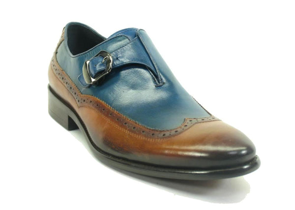 Carrucci Wingtip Buckle Loafer
