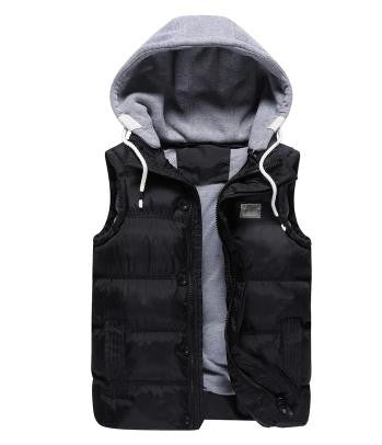 Male Vests Hooded