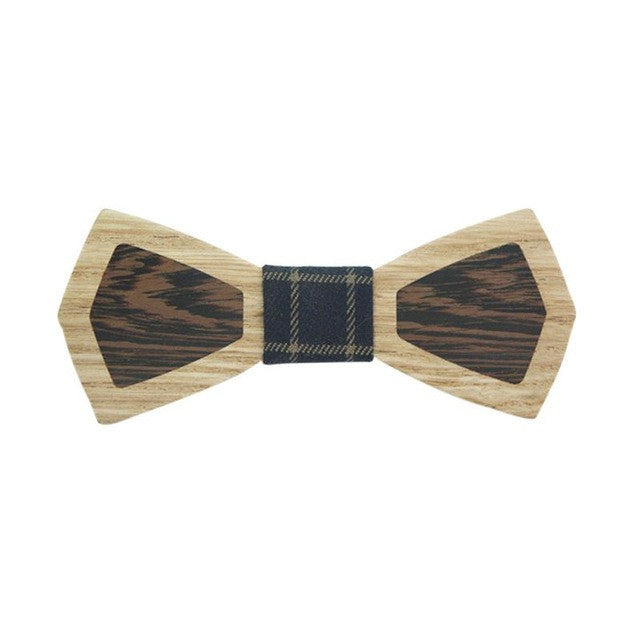 Retro Men's Wooden Bow Tie