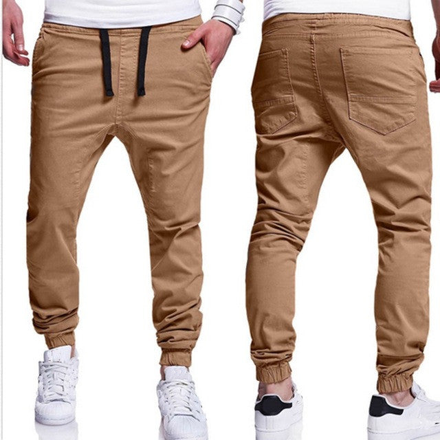 Mens Long Cargo Pants