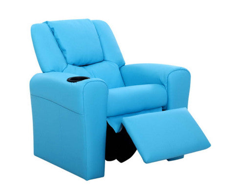 KIDS RECLINER CHAIRS blue