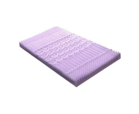 LAVENDER MEMORY FOAM MATTRESS TOPPERS Single