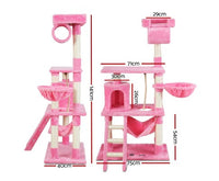 PINK CAT SCRATCHING TOWER CONDO HOUSE