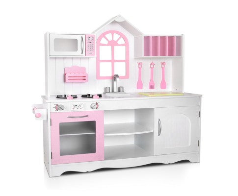 PLAY KITCHEN SET pink/white