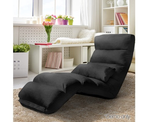 TV/GAMING FLOOR LOUNGE black