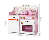KITCHEN PLAY SET pink