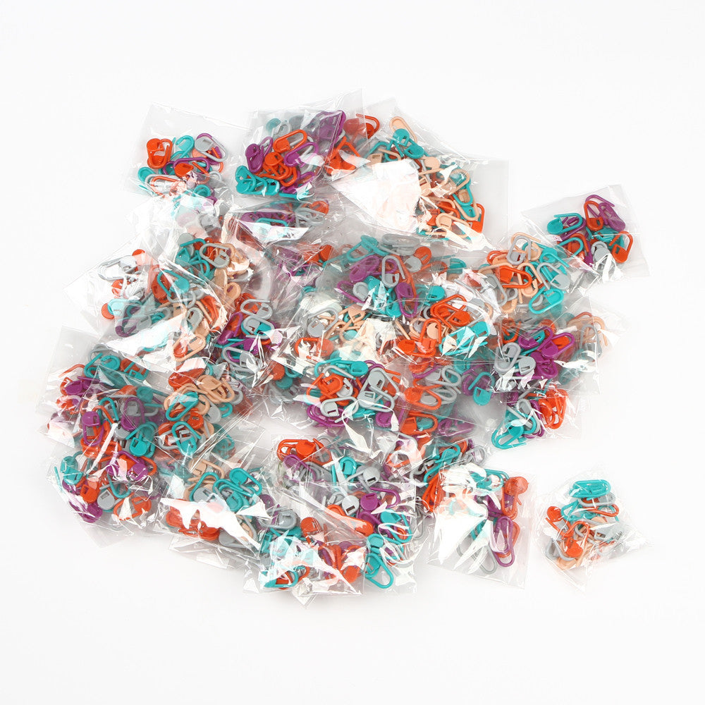 100pc Knitting Crochet Locking Stitch Markers Dragon Fly Deals