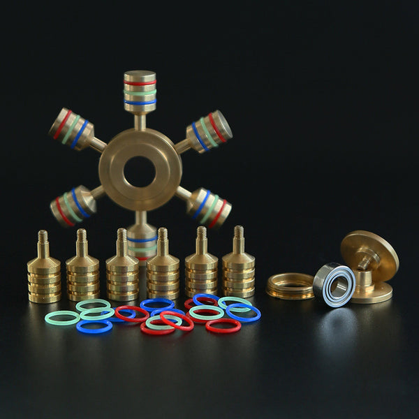 Metal Alloy Fidget Spinner - Rainbow