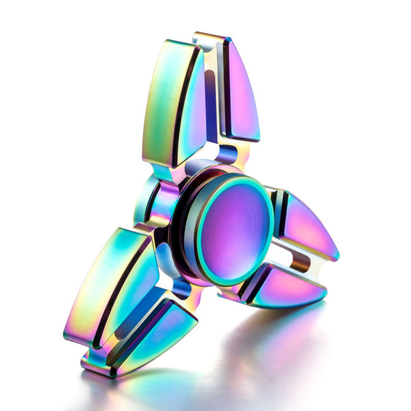 The Tri-Crab Spinner - Rainbow