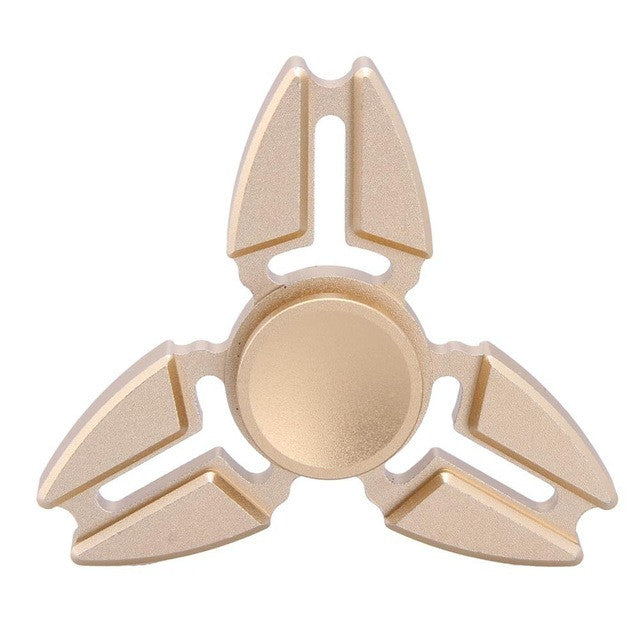 The Tri-Crab Spinner - Gold