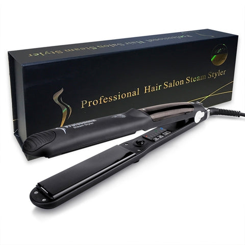 Professional Vapor Steam Ceramic Hair Straightener