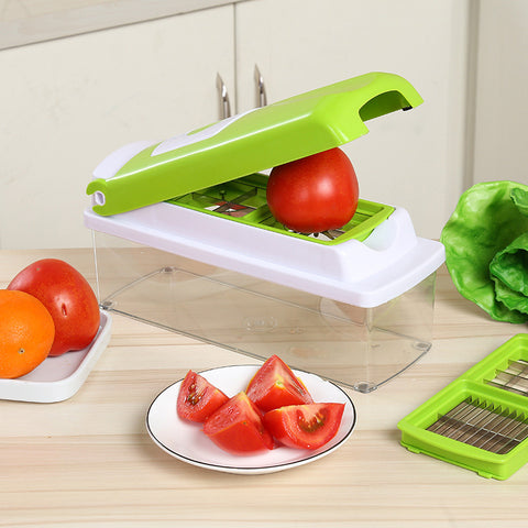 12 IN 1 VEGETABLE SLICER & CHOPPER