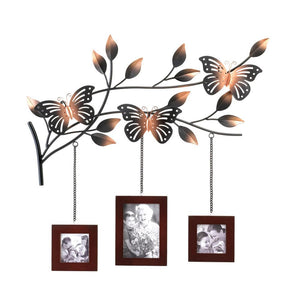 BUTTERFLY FRAMES WALL DÉCOR