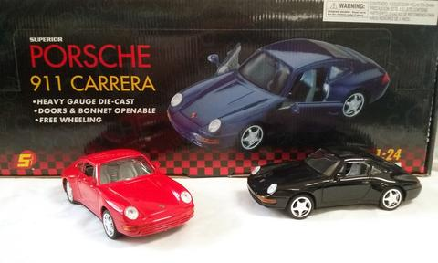 PORSCHE 911 CARRERA 1:24 DIE CAST CARS