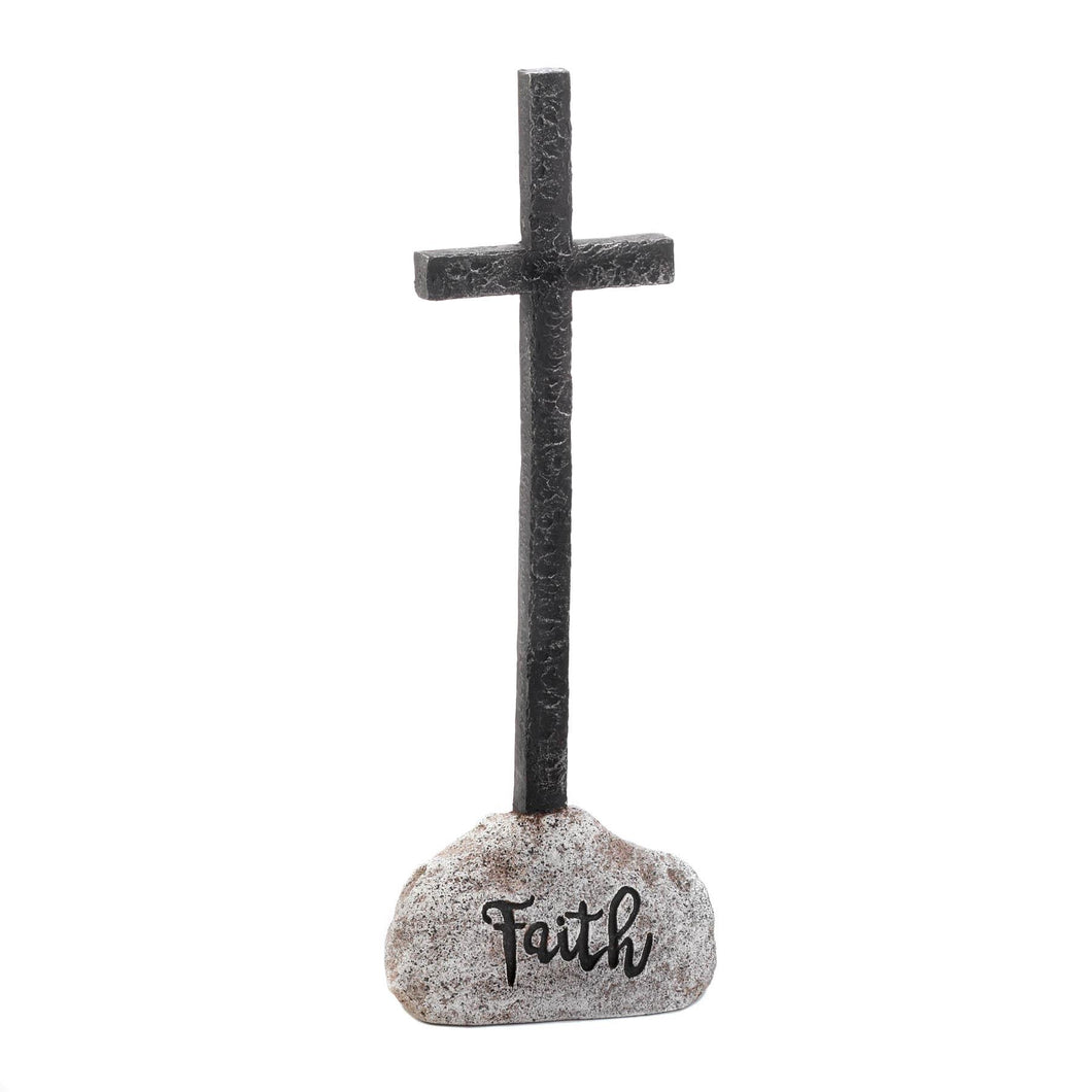 FAITH CROSS STATUE