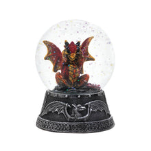 ORANGE DRAGON WATER GLOBE