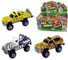 DIECAST METAL SAFARI TOY TRUCKS