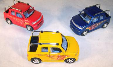 DIE CAST TOYOTA SCION BB OPEN BACK CARS