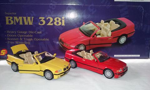 BMW 328i DIE CAST CARS