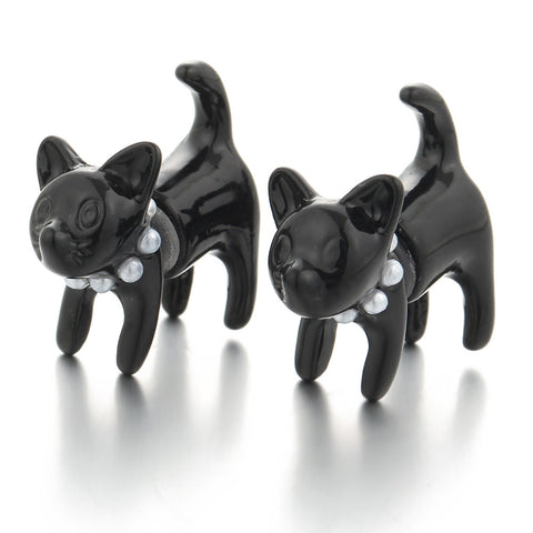cute cat stud earrings for women - very-popular-jewelry.com