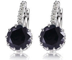 large crystal earrings for women