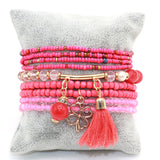 beads tassel bracelet & bangle for women