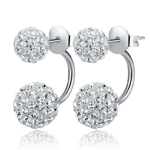 luxury flash crystal earrings for women - very-popular-jewelry.com