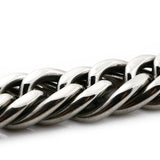 stainless steel cuban curb bracelet for men