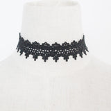 sexy lace hollow pattern choker necklace for women