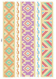 bohemian gold & silver color hand band temporary tattoo sticker