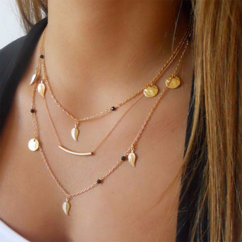 sexy multilayer necklace for women