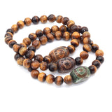 tiger eye beads with Beads charm bracelet
