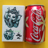 ganesha elephant pattern temporary tattoo sticker