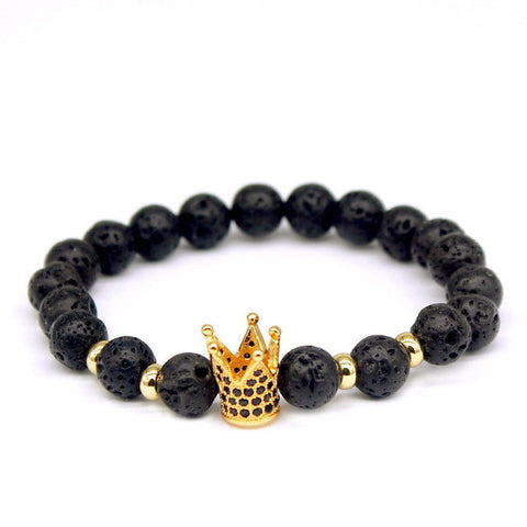 imperial crown braiding brand macrame beads bracelet & bangle - very-popular-jewelry.com