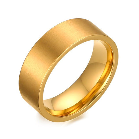 gold color with cz stone wedding rings for couples