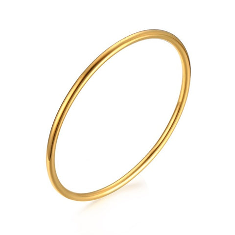 simple Gold-color Bracelet & Bangle for Women