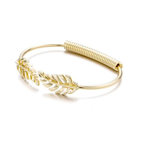 ancient greece rice spike leaf bracelet & bangle for women