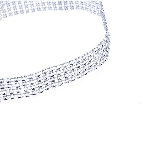 sexy sparking crystal belt belly waist chain body necklace