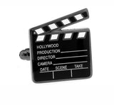 black color hollywood film design cufflinks for men