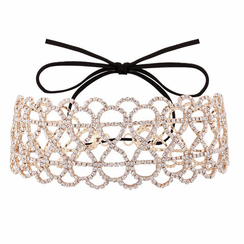 luxury sexy choker long maxi statement necklace