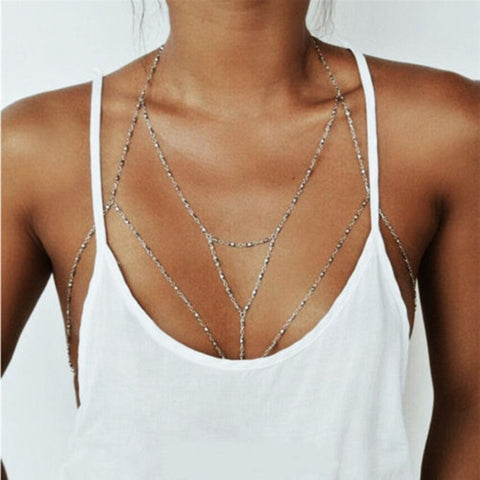 multilayer sexy bikini necklace for women