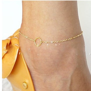 sexy karma round circle anklet for women