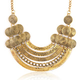 vintage statement maxi choker necklace & pendant for women