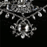 luxury crystal bridal head chain indian hair jewelry for women