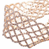 luxury rhinestone choker necklace for women
